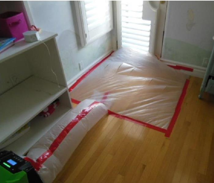 Containment of Hardwood Floors